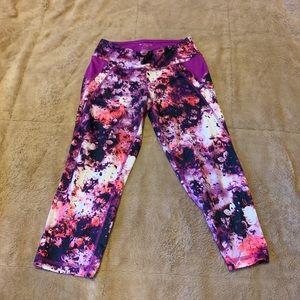 Multi-colored Spandex Leggings